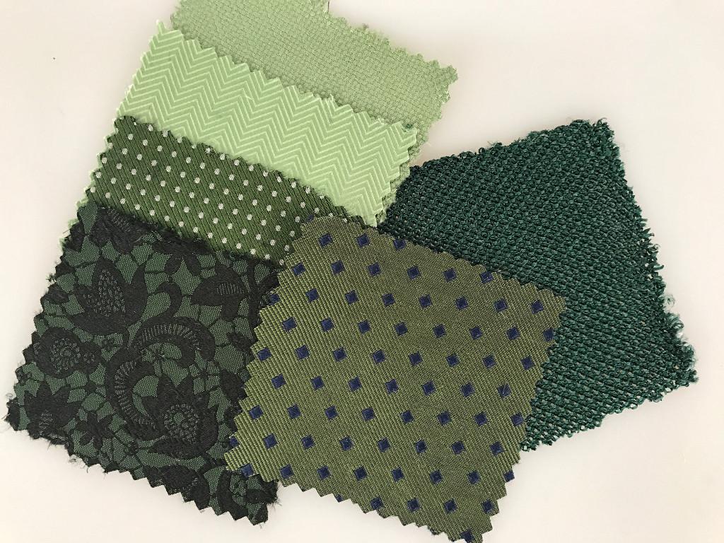 Stoffproben Krawatten